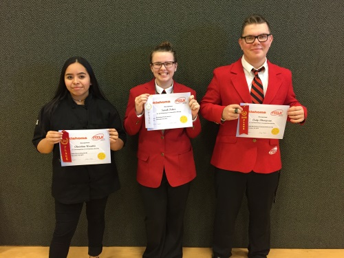 FCCLA District Winners